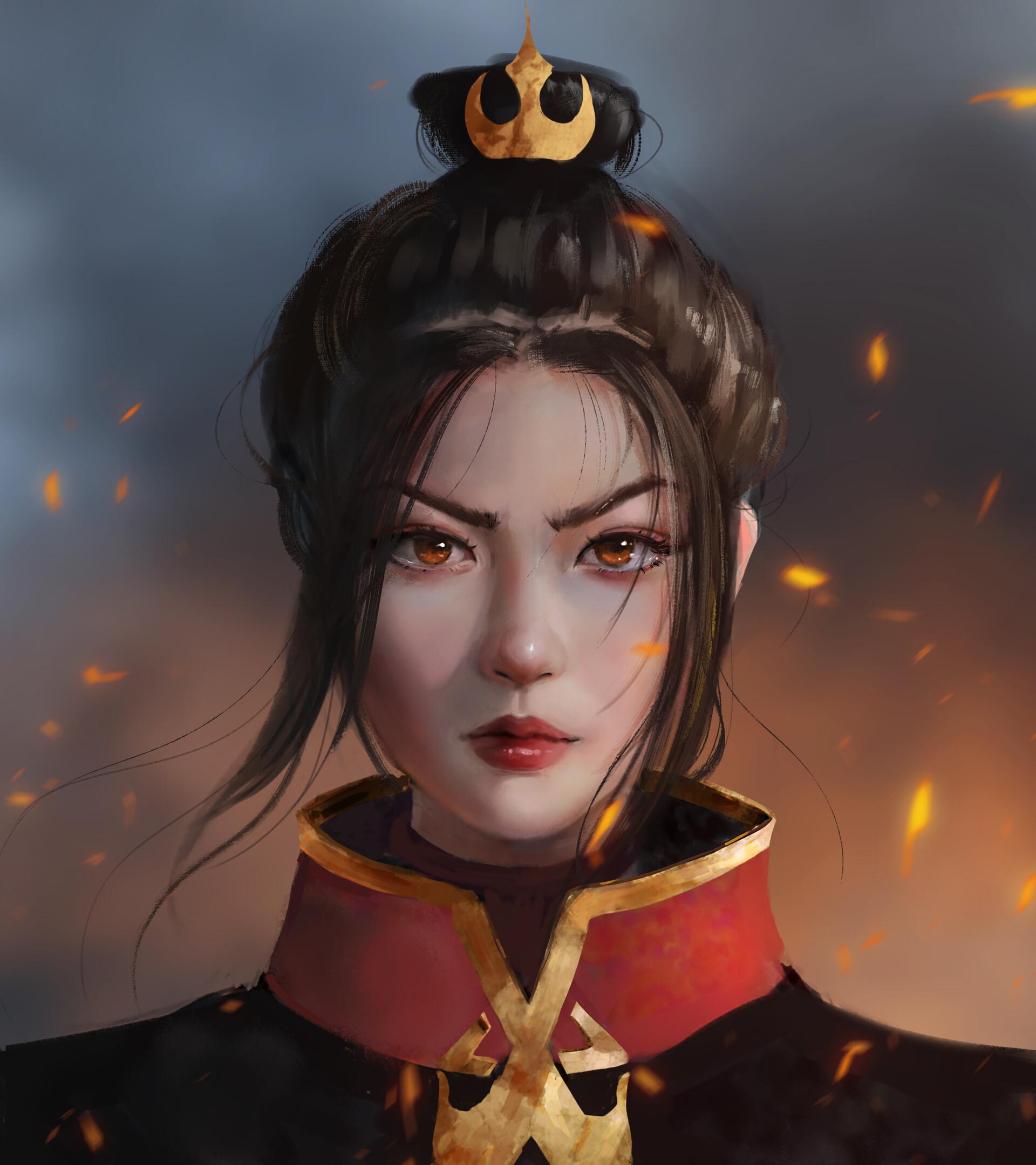 Avatar: Fanart imagina una versión mucho más realista de la princesa Azula
