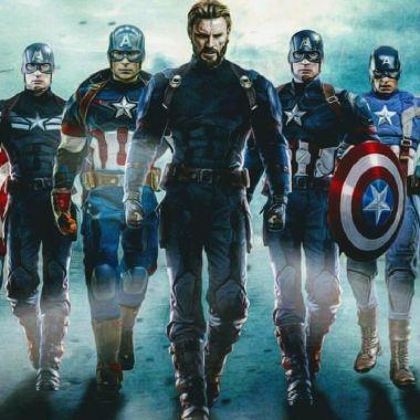 personajes de marvel capitán américa