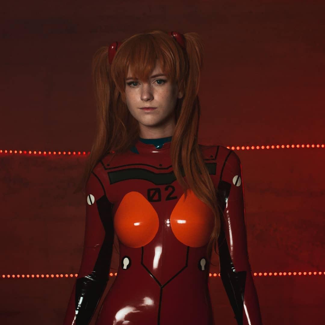 asuka cosplay neon genesis evangelion cara  nikita