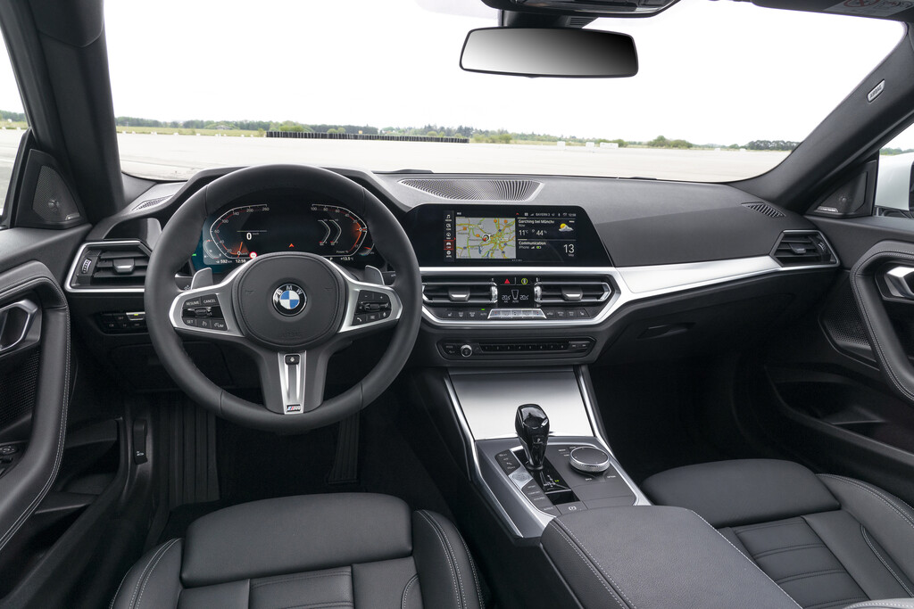 bmw coupe serie 2 interiores