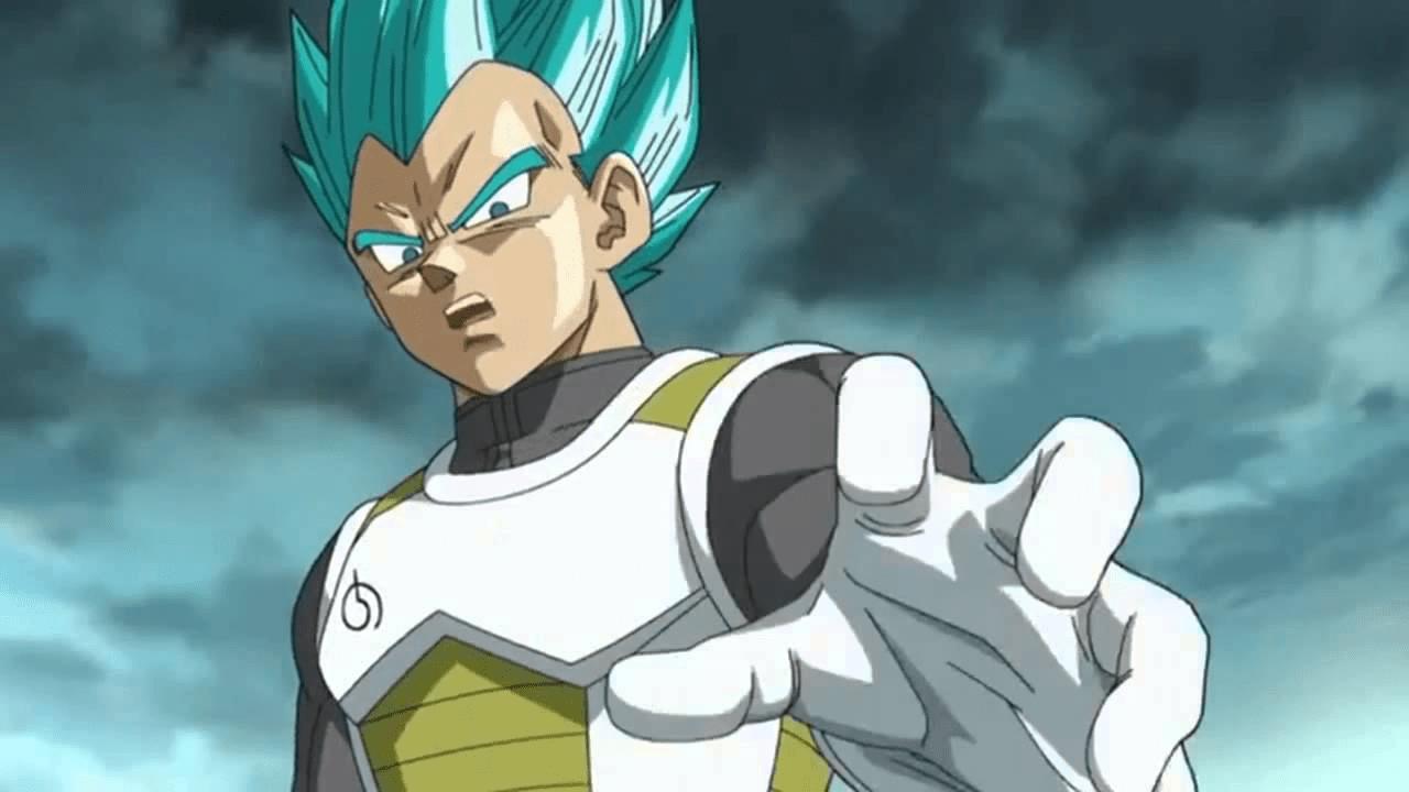personajes de dragon ball super saiyajin blue