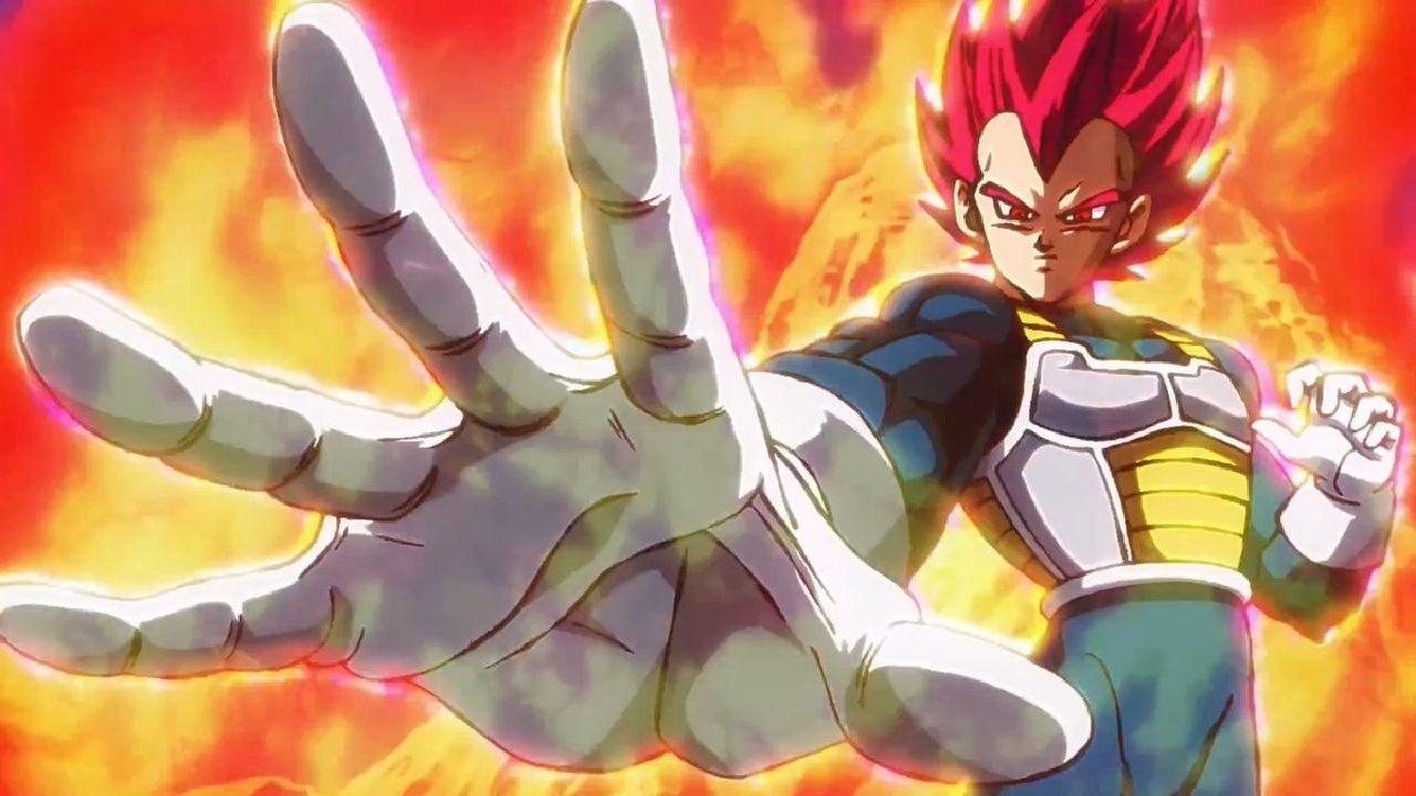 personajes de dragon ball super saiyajin dios