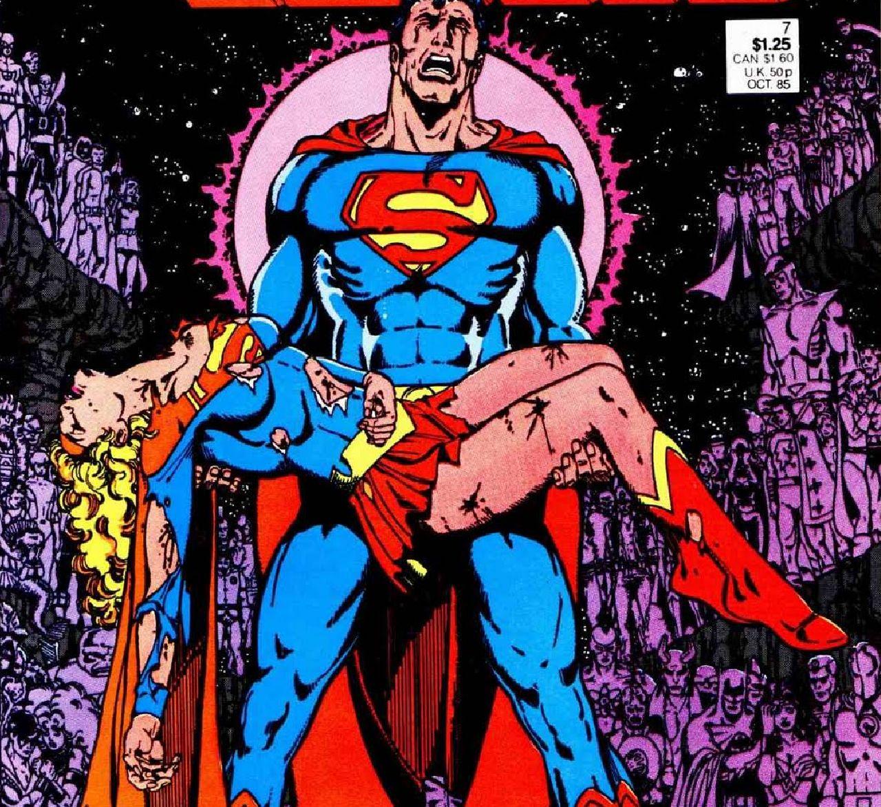 personajes de dc comics supergirl
