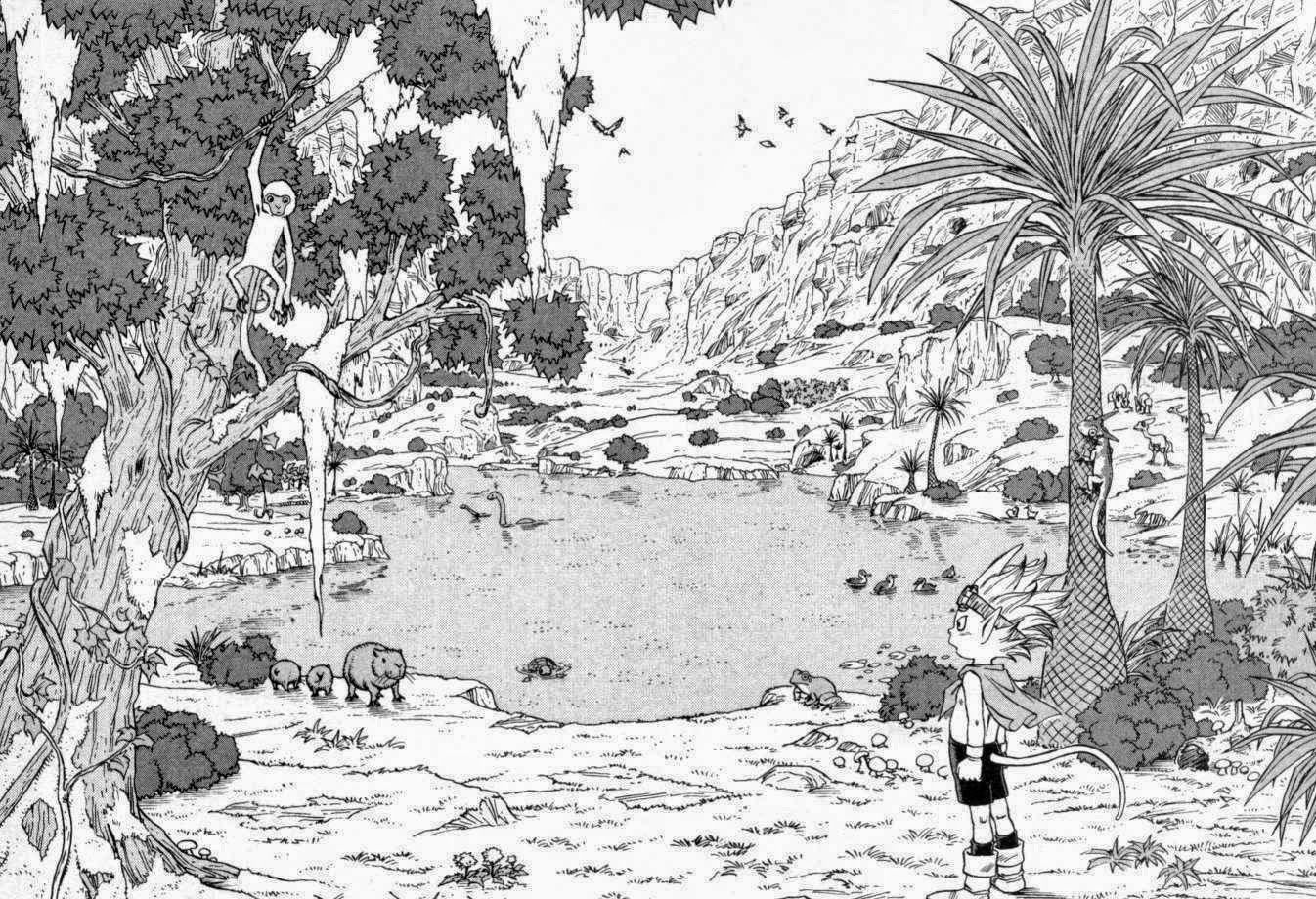 personajes de dragon ball sand land