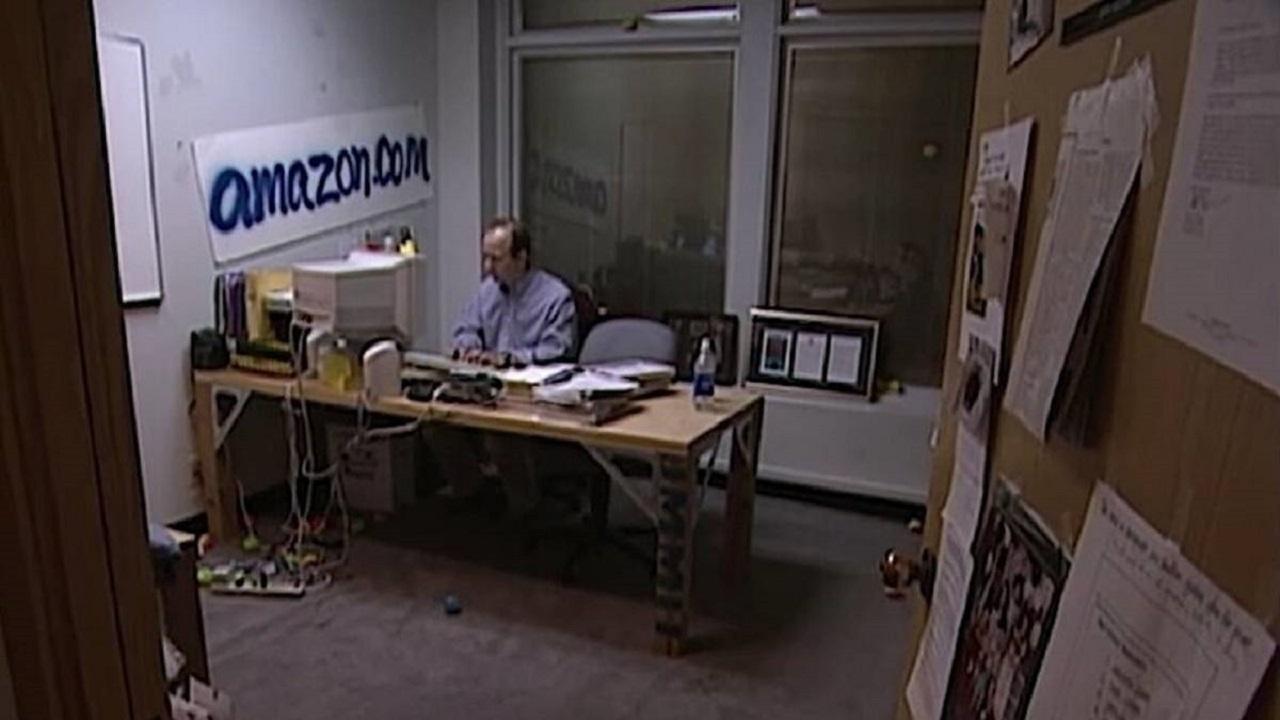 Jeff Bezos Primer Oficinas Amazon Garage