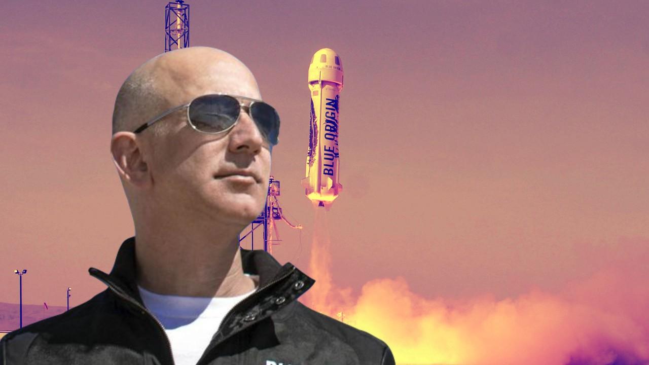 Jeff Bezos Historia Blue Origin Espacio Exterior New Shepard