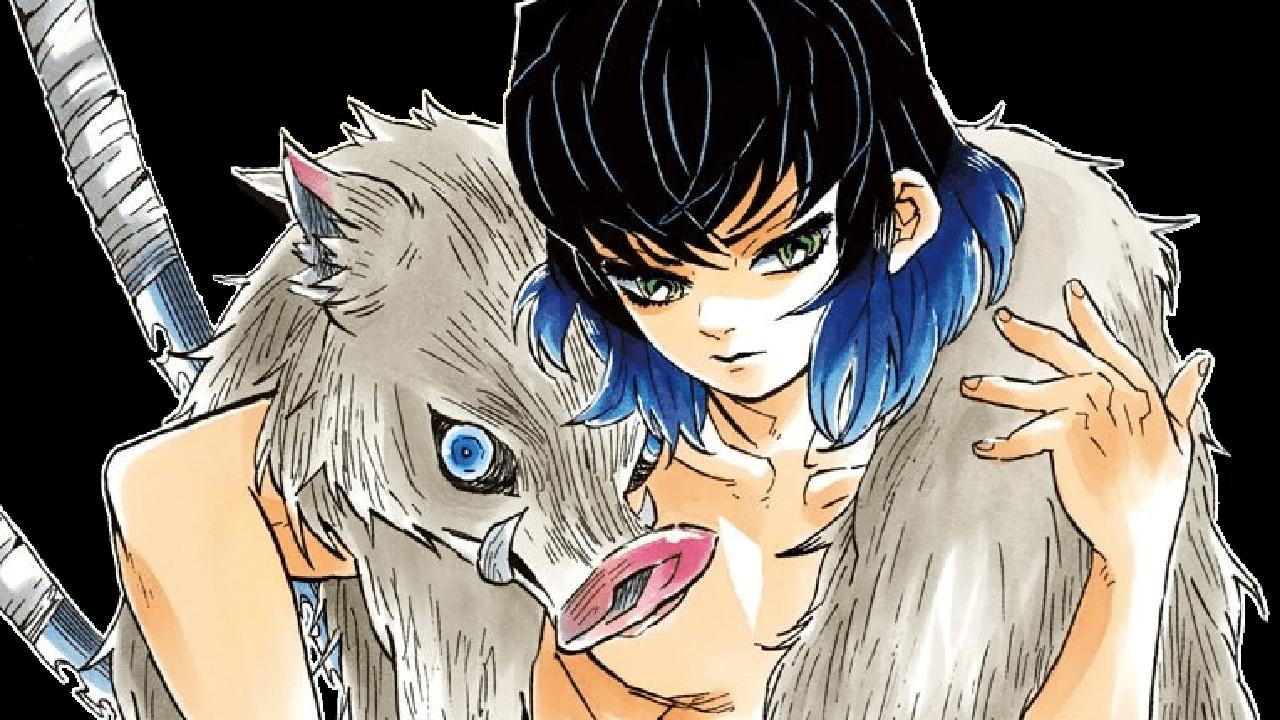 kimetsu no yaiba anime Inosuke Hashibira