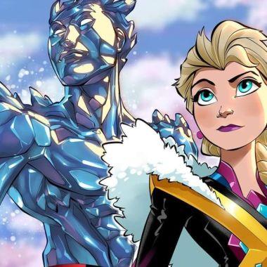 xmen crossover princesas disney fotos