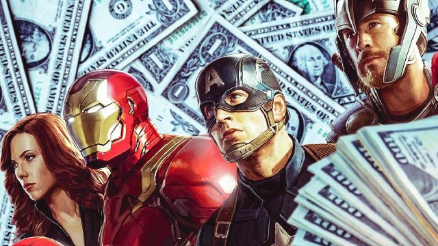 superheroes de marvel avengers