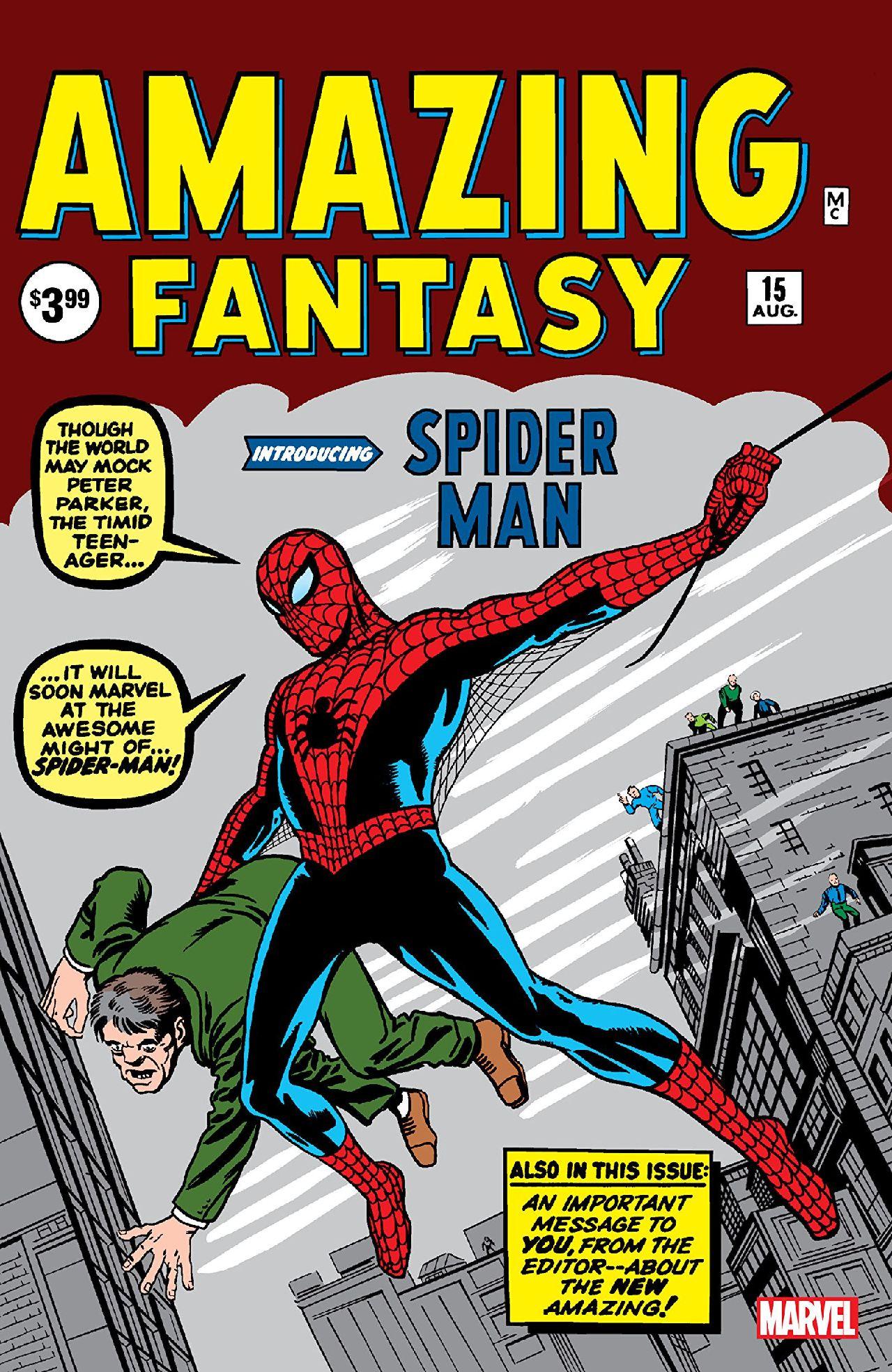 superheroes de marvel peter parker