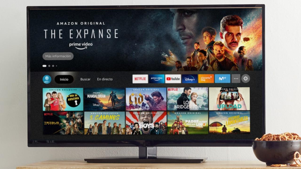 Amazon Fire TV Stick menu