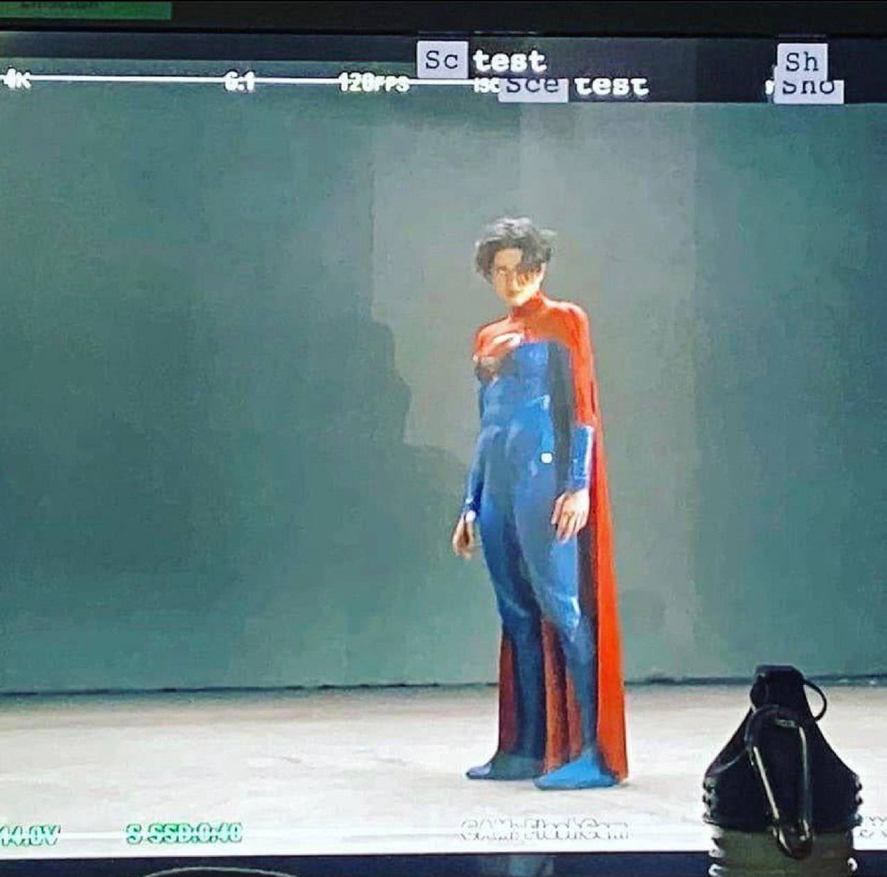 Supergirl Sasha Calle Imágenes de Flash Película