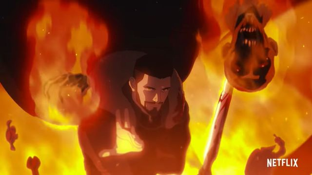 Películas de Netflix Anime The Witcher Nightmare of the Wolf