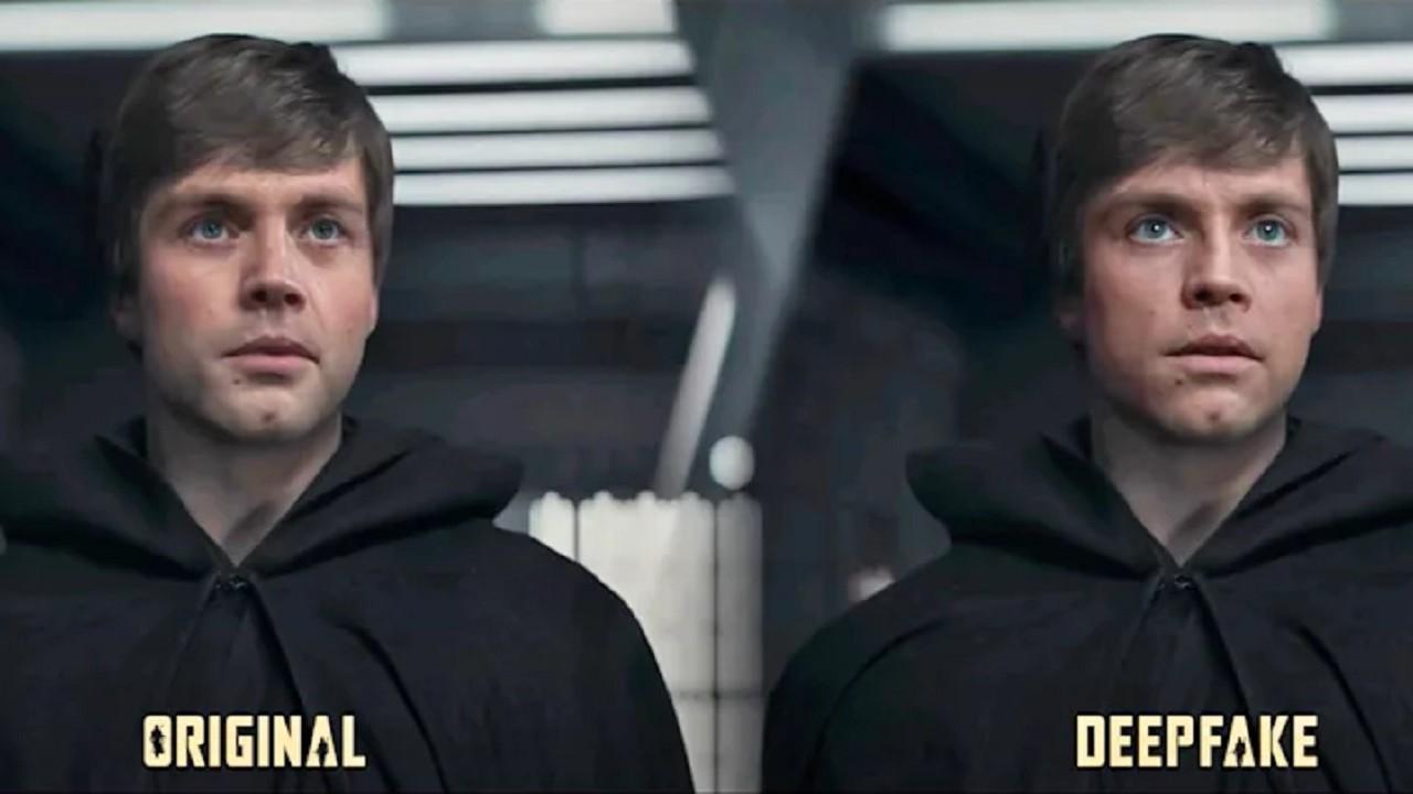 Lucasfilm The Mandalorian Shamook Luke Skywalker
