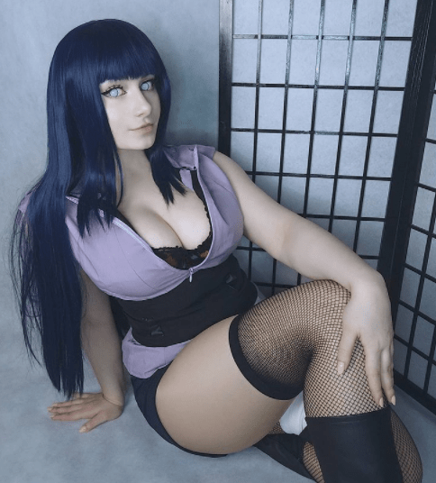 Anime cosplay naruto hinata