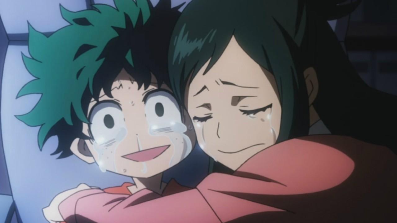 My Hero Academia Deku fanart nos muestra una de las escenas más emotivas del anime