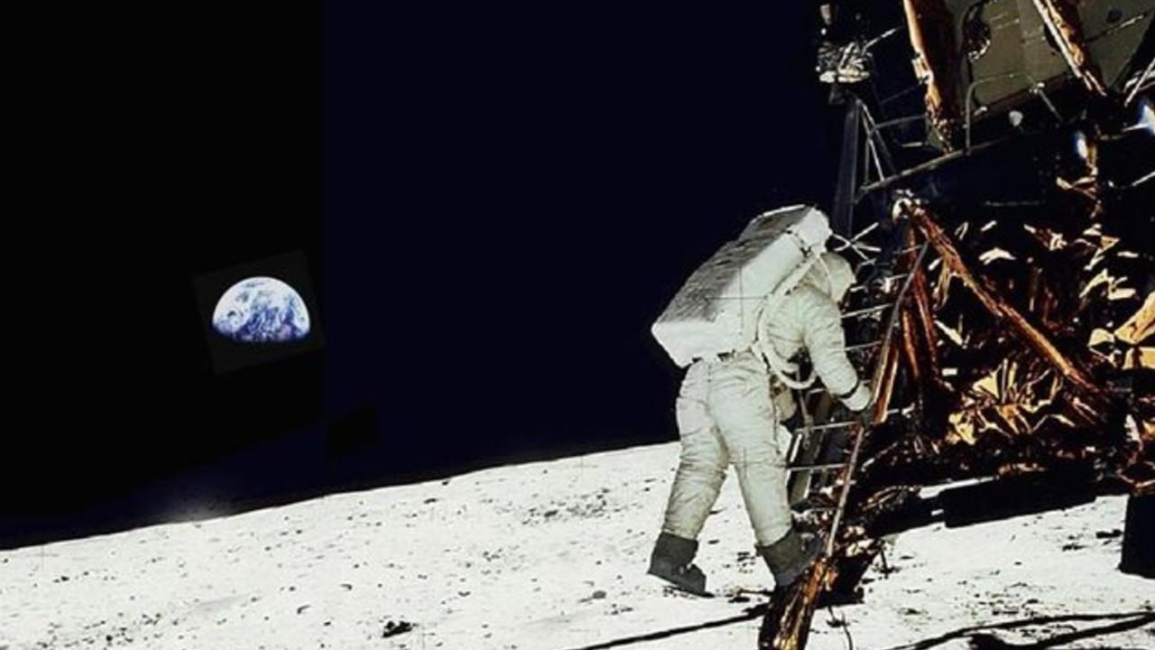 Fotos llegada luna alunizaje neil armstrong