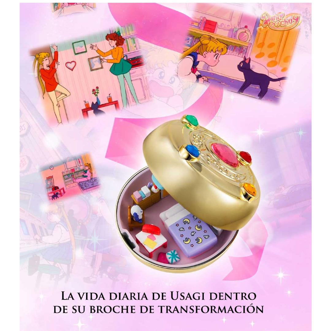 Sailor Moon se une a la nostalgia retro con estos juguetes al estilo de Polly Poket