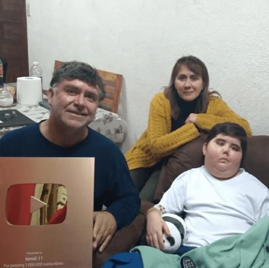 Tomi 11 youtuber estado de salud