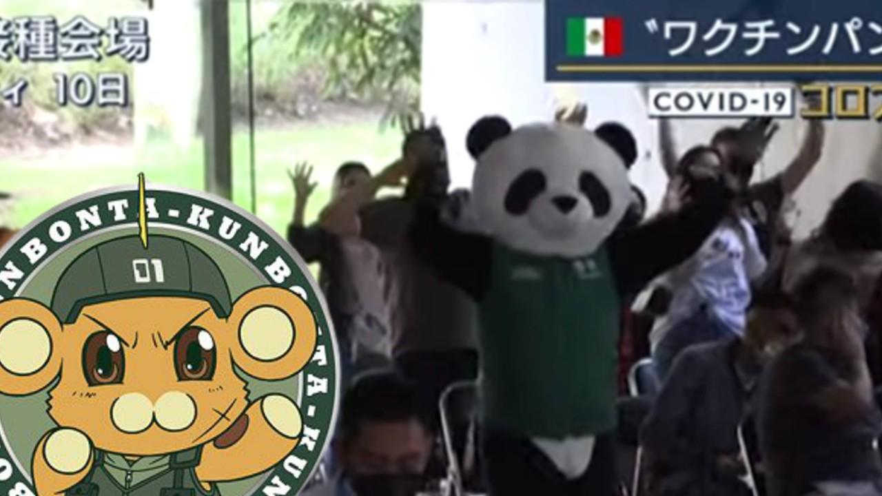 pandemio japon panda botarga