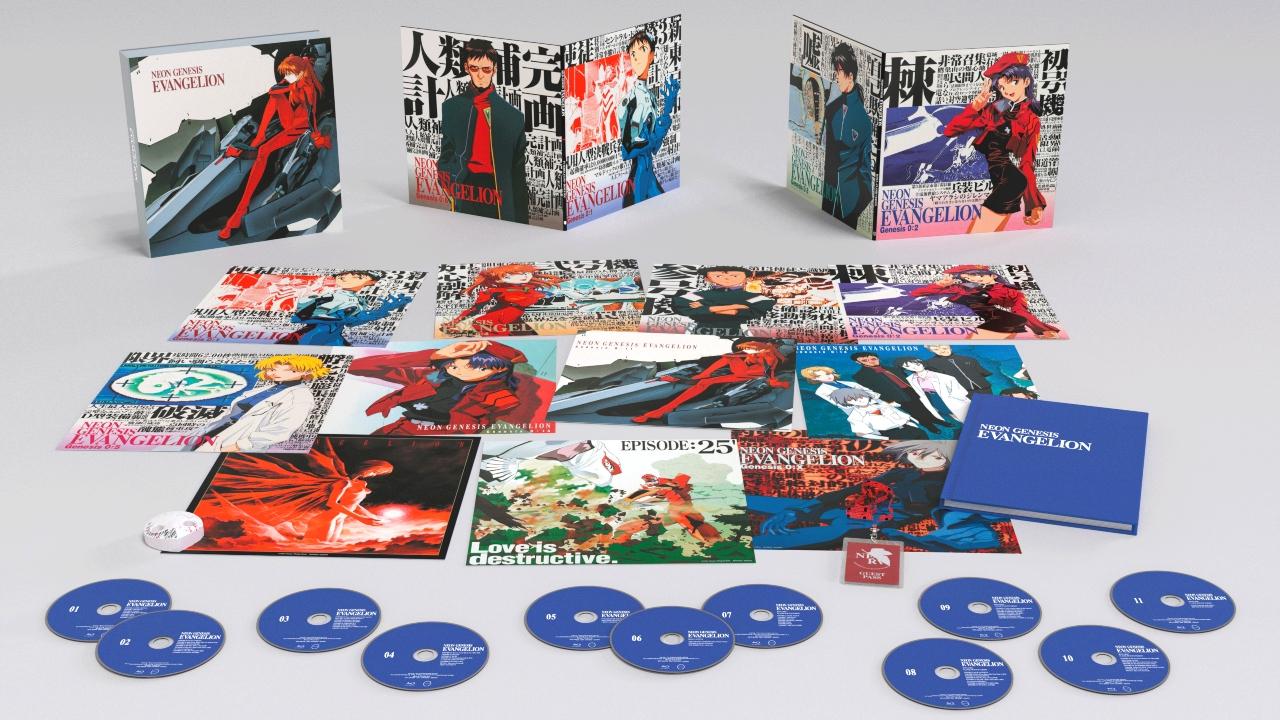 Bluray evangelion paquete anime original