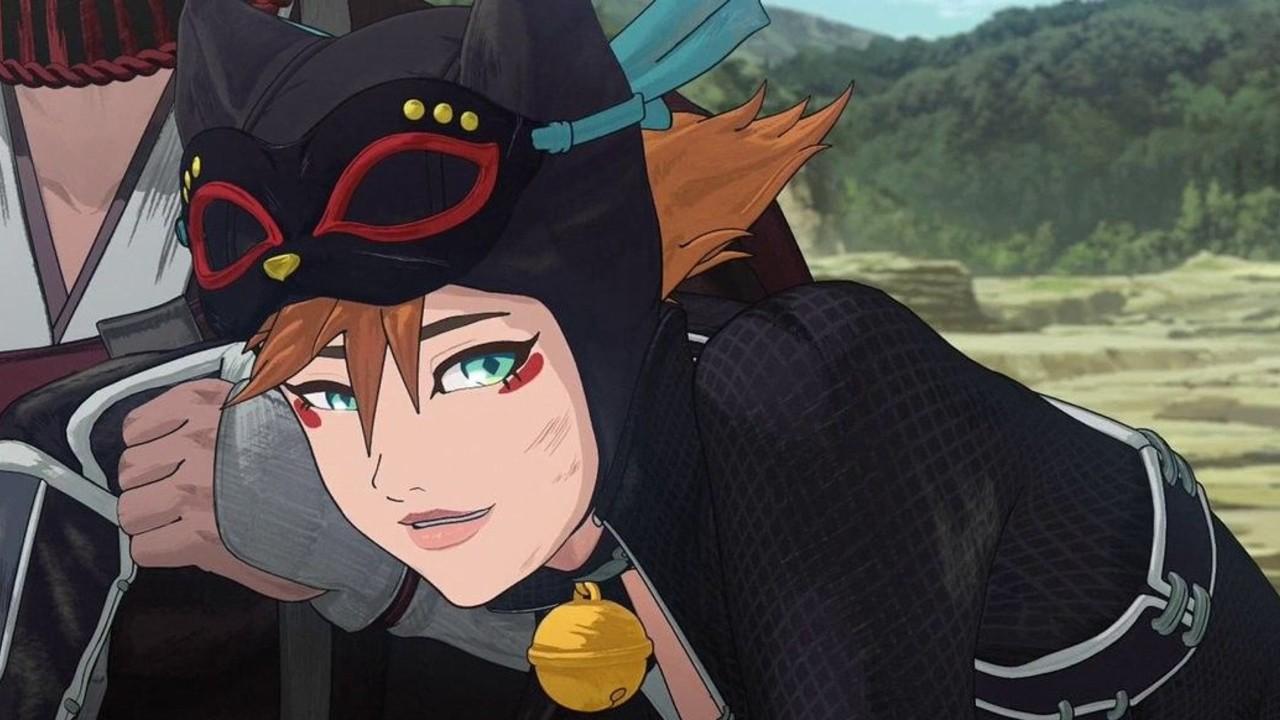 Catwoman pelicula hunten anime batman samurai