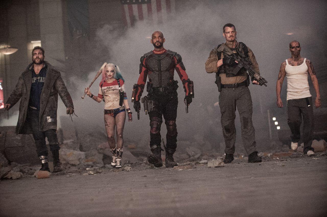 superheroes de dc suicide squad
