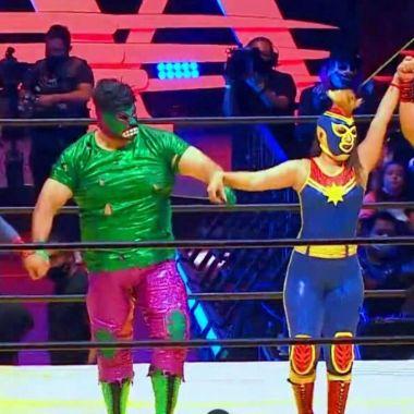 Triplemania marvel lucha Team leyenda