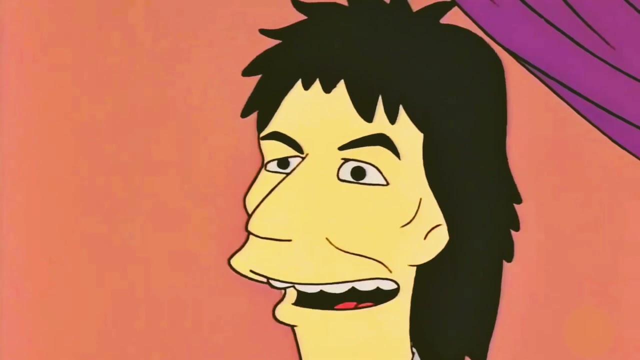 personajes de los simpson ringo starr