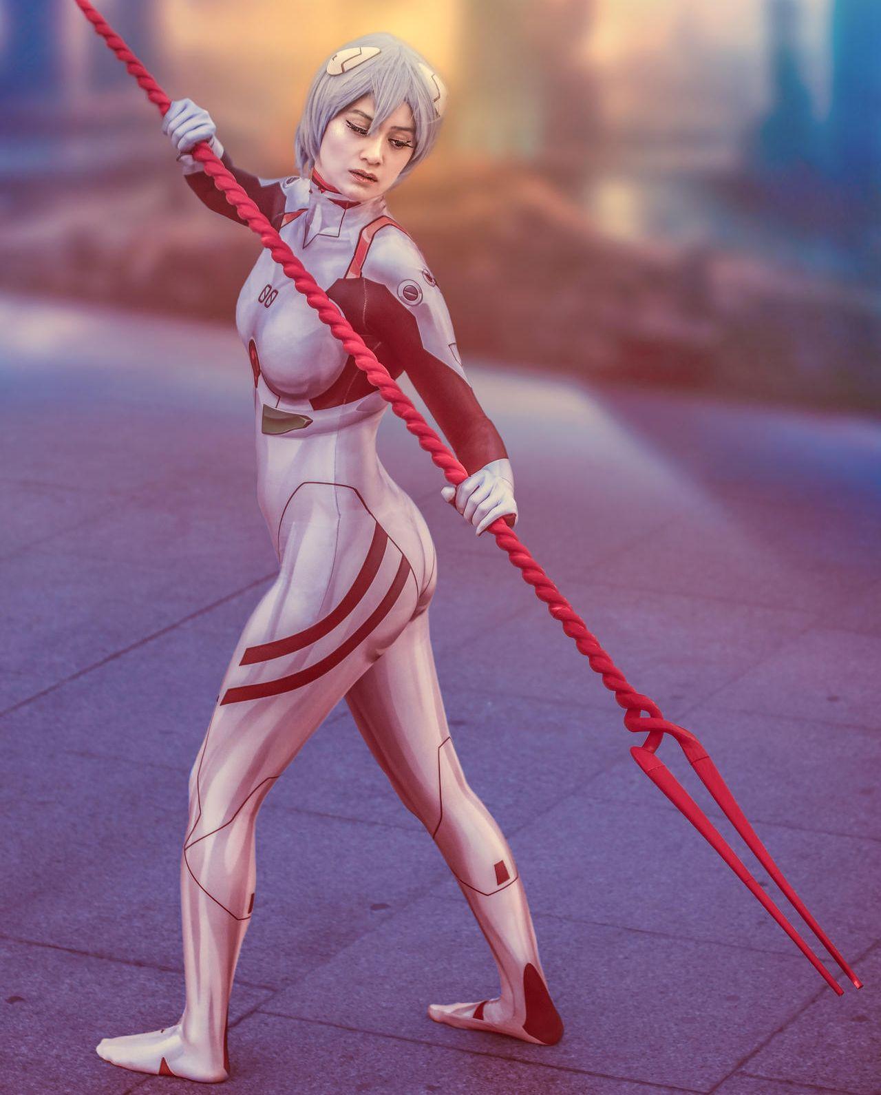 personajes de evangelion cosplay