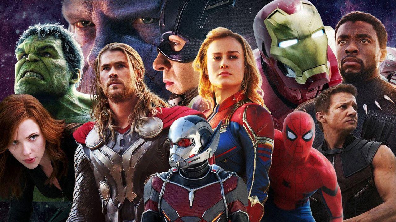 superhéroes de marvel mcu