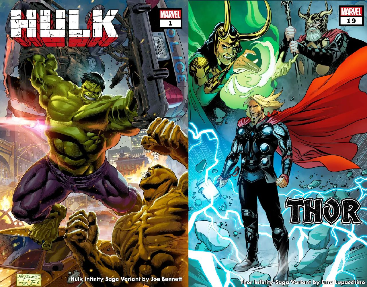 personajes de marvel hulk