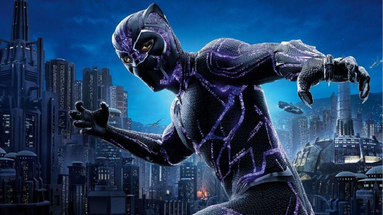 superheroes de marvel black panther