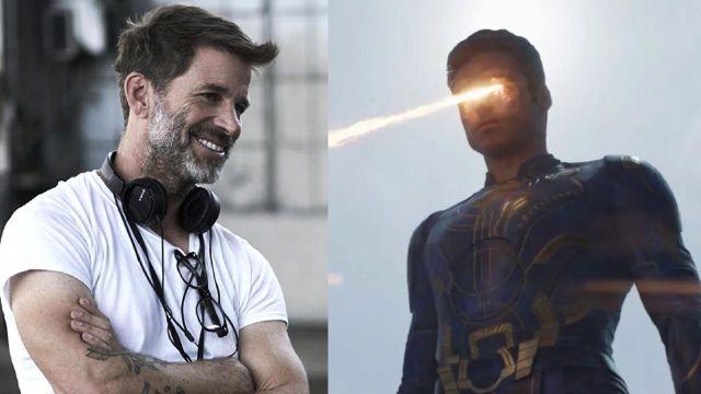 superhéroes de marvel zack snyder