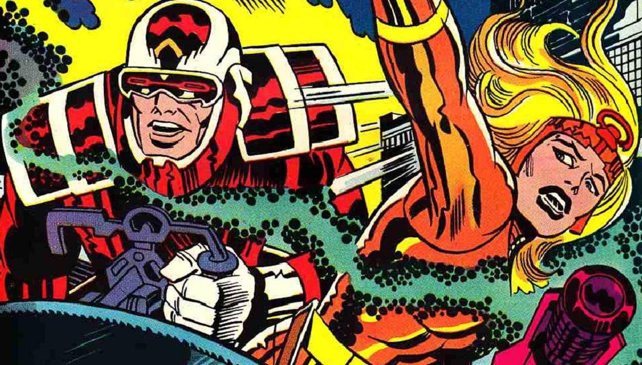 superhéroes de marvel jack kirby