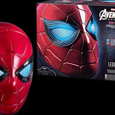 MARVEL Legends spiderman casco no way home