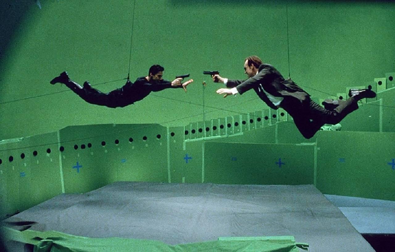 The Matrix Efecto Bullet Time Tecnología Película