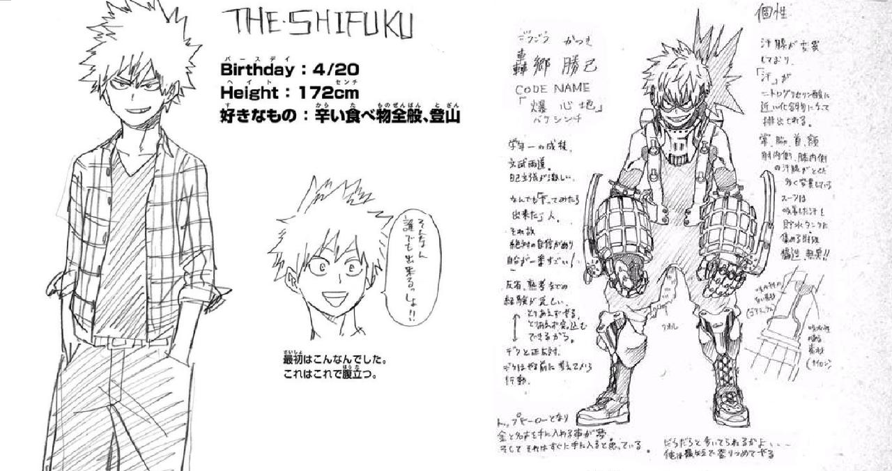 personajes de my hero academia shueisha