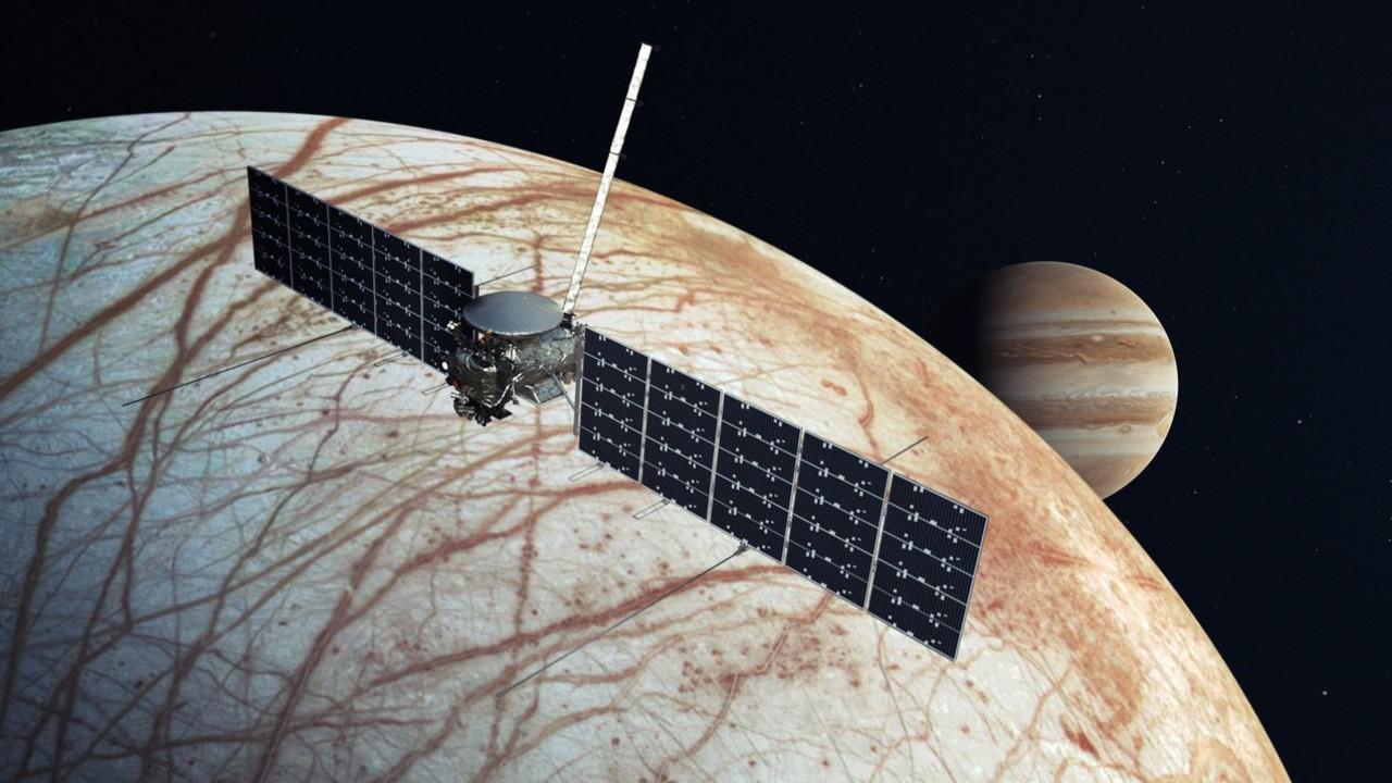 NASA SPACE X elon musk mision europa luna