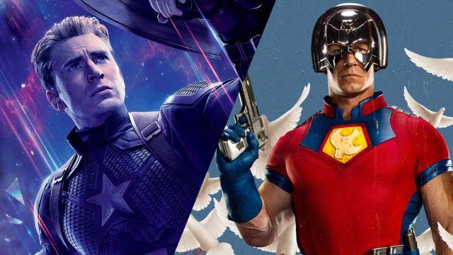 Peacemaker vs Capitán América, Twitter se convierte en el escenario de este crossover entre Marvel y DC Comics