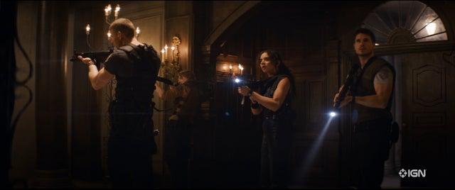 Primeras Imágenes Película Resident Evil Albert Wesker Jill Valentine Brad Vickers Chris Redfield