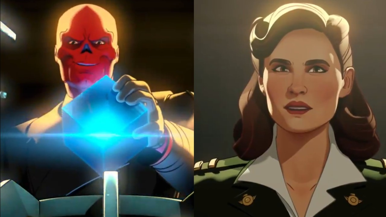 personajes de marvel red skull peggy carter what if