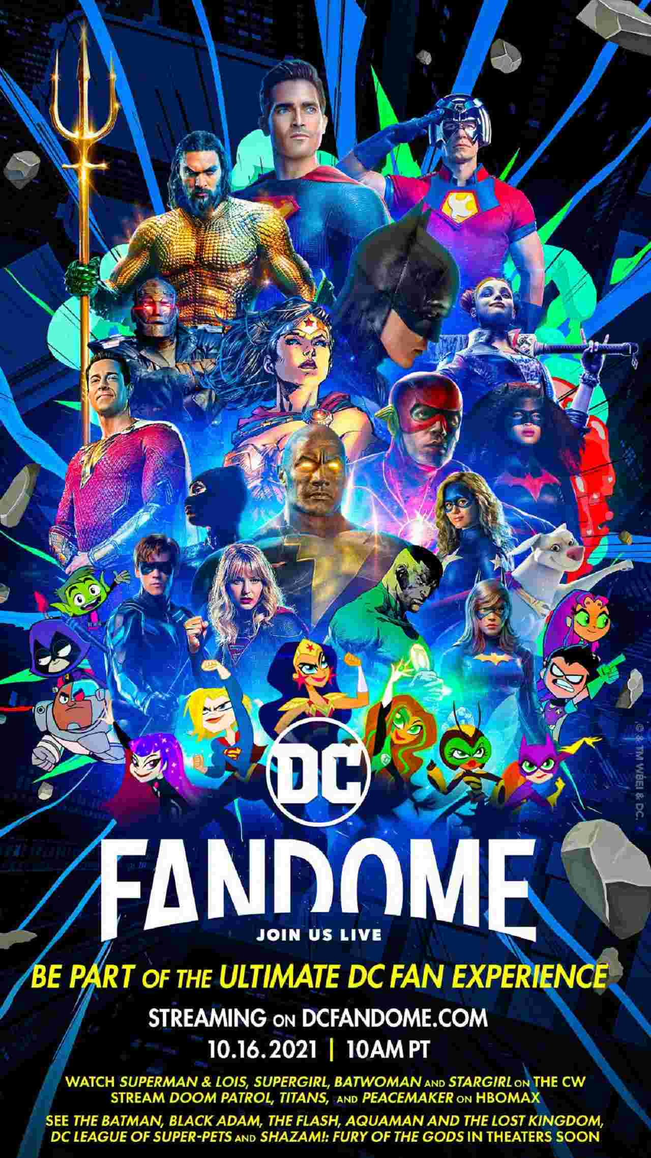Segunda Edición DC Fandome Fecha Horario