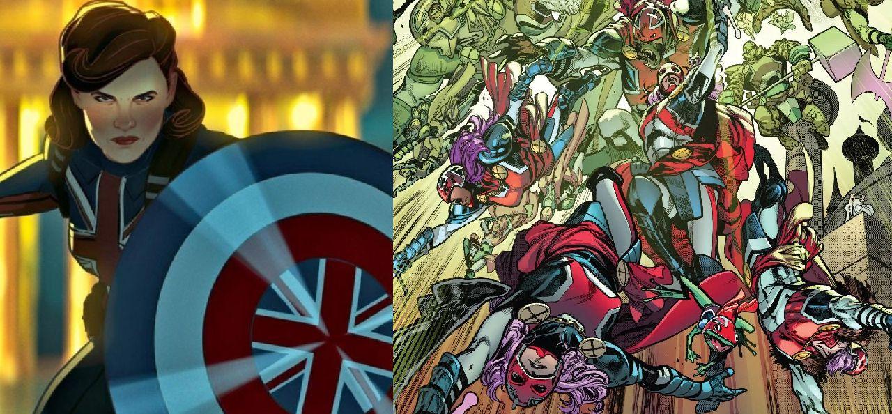 superhéroes de marvel capitan britania