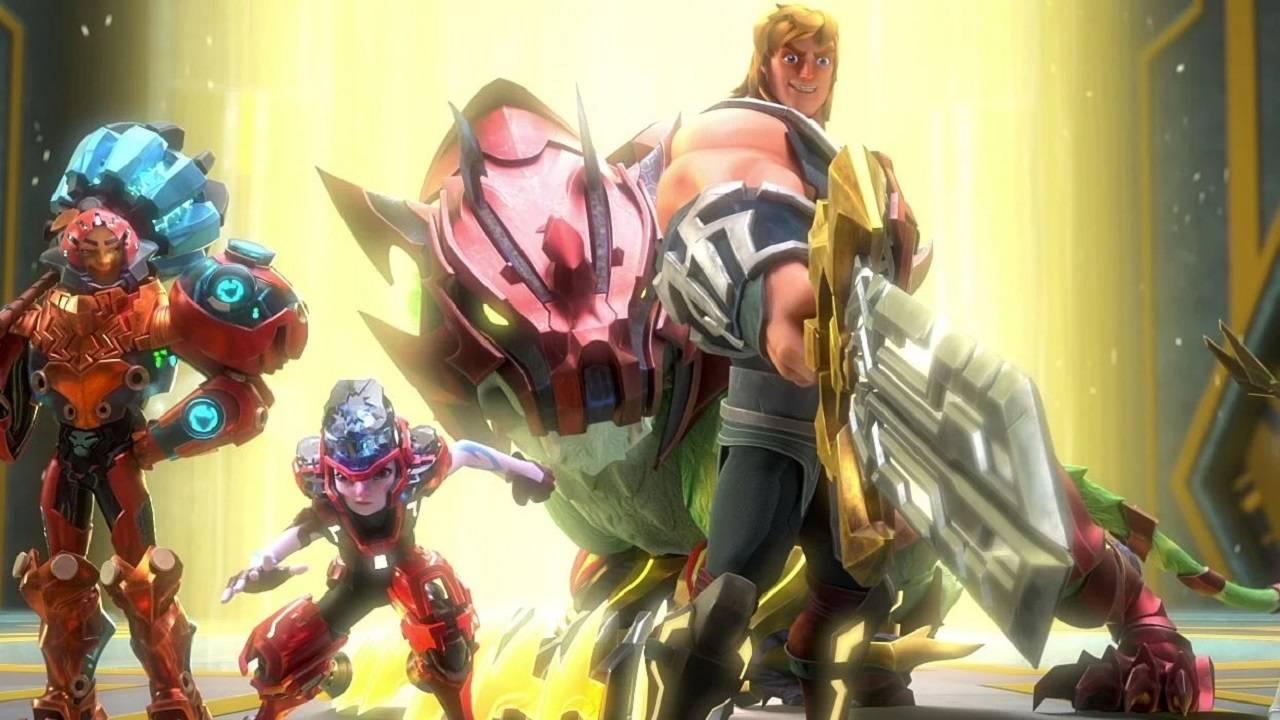 Planes Netflix He-Man Serie Animada Nueva Serie He-Man