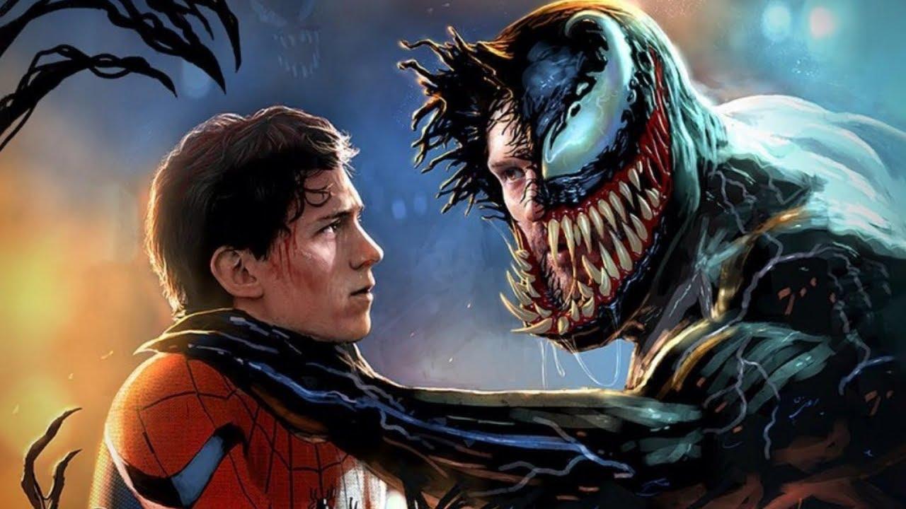venom 2 spider man crossover tom hary holland