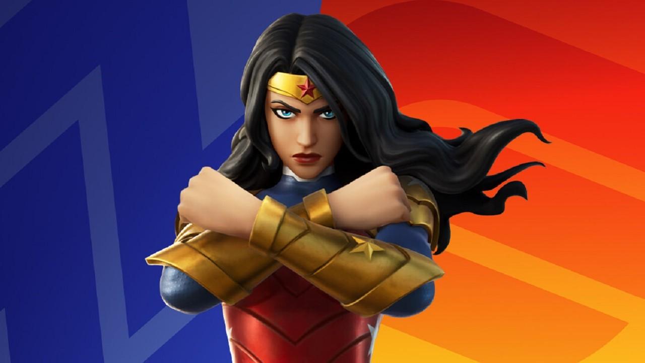 Epic Games Fortnite Skin Wonder Woman
