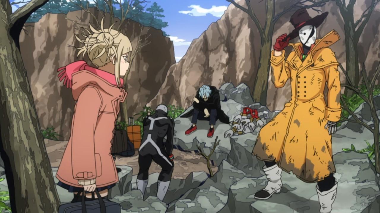 personajes my hero academia anime villain