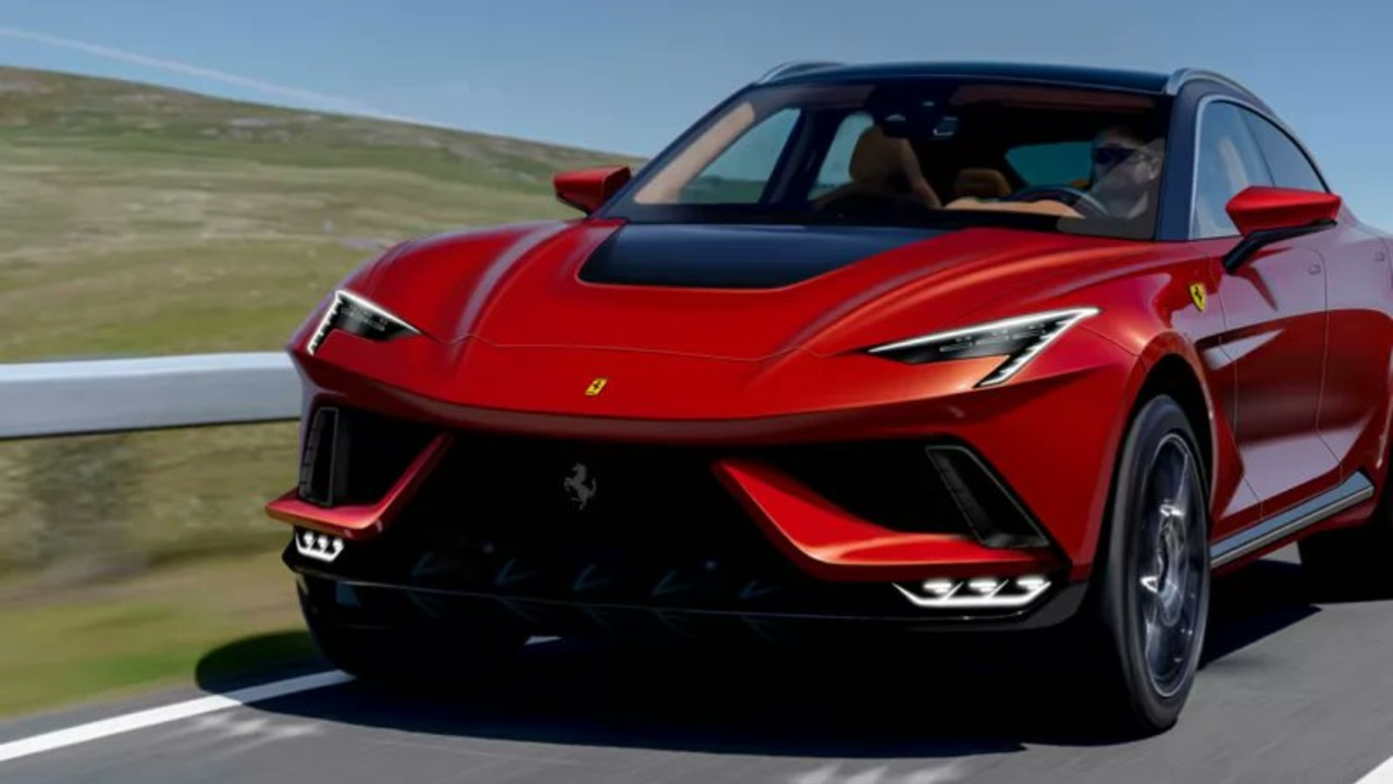 Ferrari suv purosangue prototipo