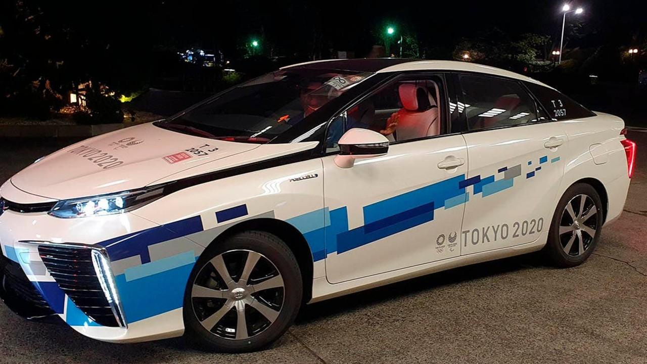 Tokio 2020 toyota mirai